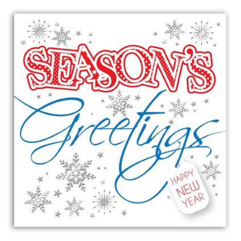 Season\'s Greetings and Happy New Year